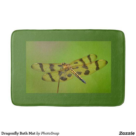 Dragonfly Bath Mat Bath Mats