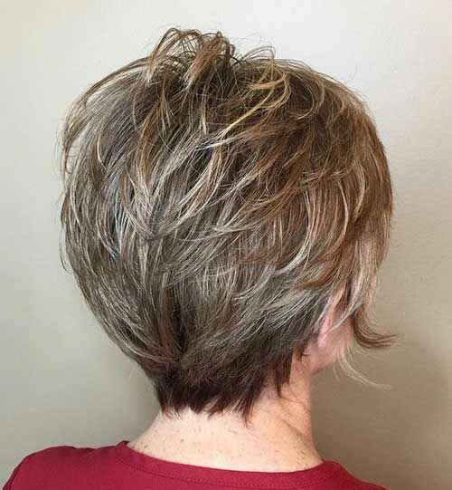 38 Most Flattering Short Hairstyles For Round Faces In 2020 Short Layered Haircuts Short Hairstyles For Thick Hair Thick Hair Styles
