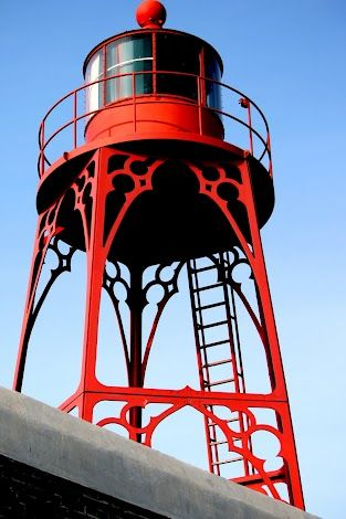 Lighthouse at Vlissingen (Flushing), The Netherlands