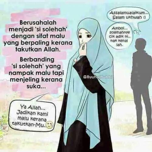 Islam Itu Indah Belajar Menjadi Wanita Solehah Kata Kata Indah Belajar Motivasi