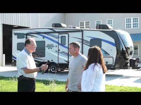 2017 Weekend Warrior Toy Hauler Travel Trailer 28W customer review from ...