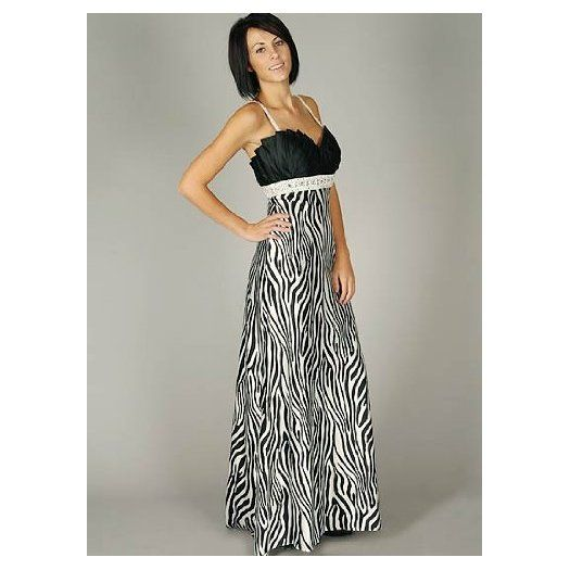 Zebra Bridesmaid Dresses 121