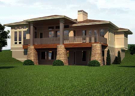 Plan 95002rw prairie mountain pleaser house plans for House plans with daylight walkout basement