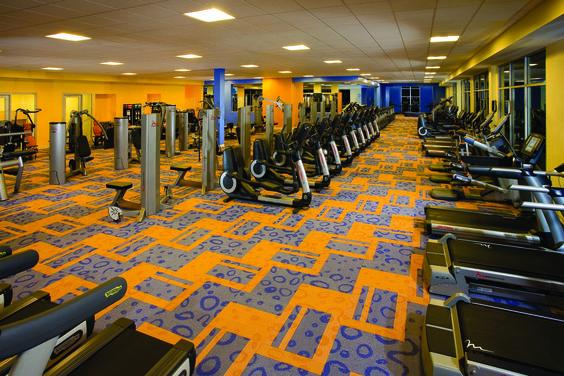 No abandones tu rutina de ejercicios cuando estes por #California. Centro #fitness en Renaissance ClubSport Aliso Viejo Laguna Beach Hotel