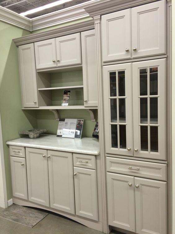 Martha Stewart Turkey Hill Kitchen Cabinets In Sharkey