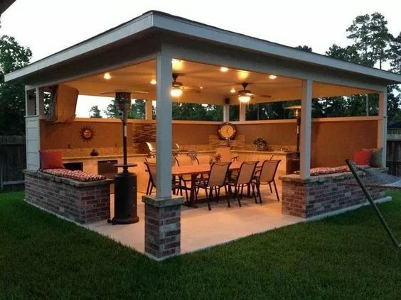 Pin By Anna On Backyard Patio Deck Outside Ideas Backyard Patio Backyard Outdoor Rooms