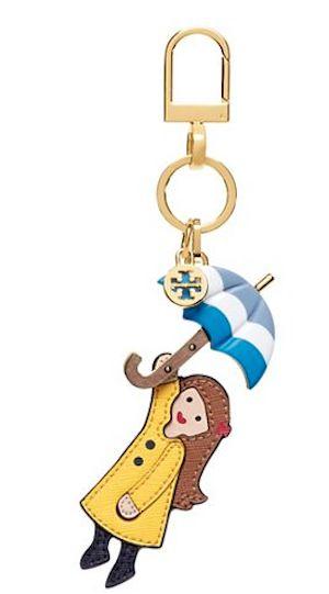 rain girl keychain