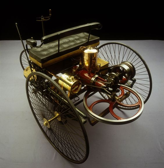 The World S First Automobile The Benz Patent Motorwagen: 1885 Benz Patent Motorwagen This Is Considered To Be The