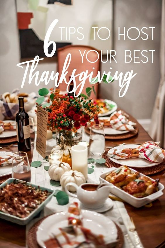 Get ready for Thanksgiving with these 6 prep tips to host your best Thanksgiving this year. #thanksgiving #entertainingtips #lifehacks