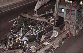 car crash photos 2013: Princess Diana Car Crash Photos