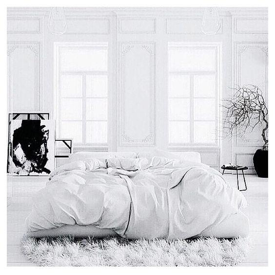Hello Sunday #interior #design #home #bedroom #white #minimal #simple #style #love #sunday