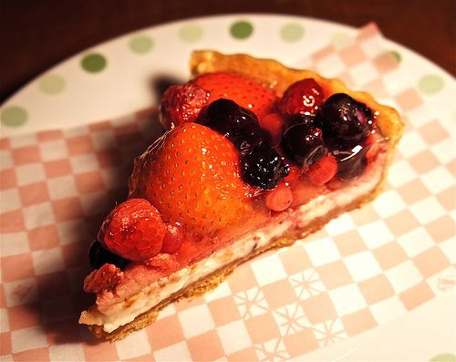 Tarts with fresh berries