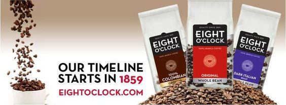 Eight O'clock Coffee   http://www.eightoclock.com/
