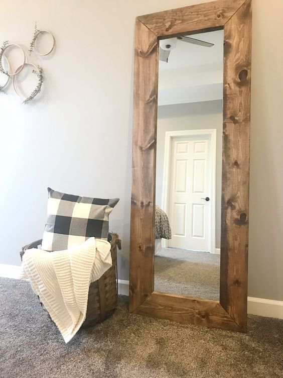 Interior Design: How To Build Wooden Mirror Frame