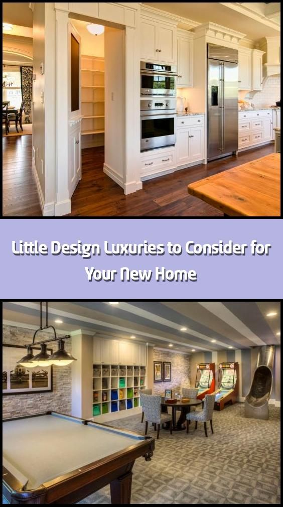 Little Design Luxuries To Consider For Your New Home We Hope You Like The Products We Recommend Just So You Are Aware Luxury Design Pantry Design Small Sink