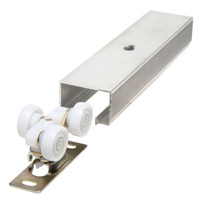 For pull out pantry this bypass door hardware is the key to smooth