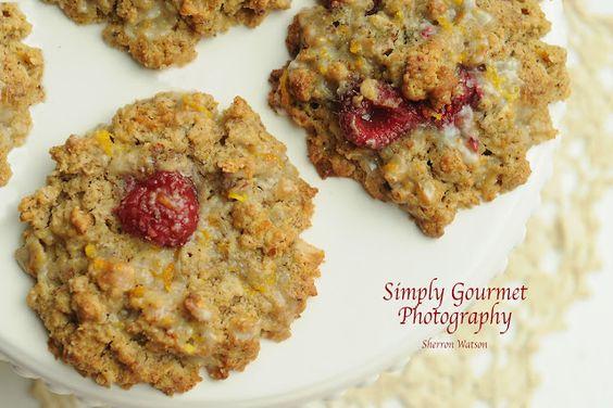 Simply Gourmet: 144. Oatmeal Raspberry Orange Scones