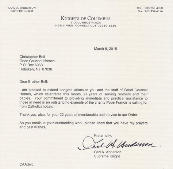 Congratulations Letter From Donald Rumsfeld  Vorcom Military