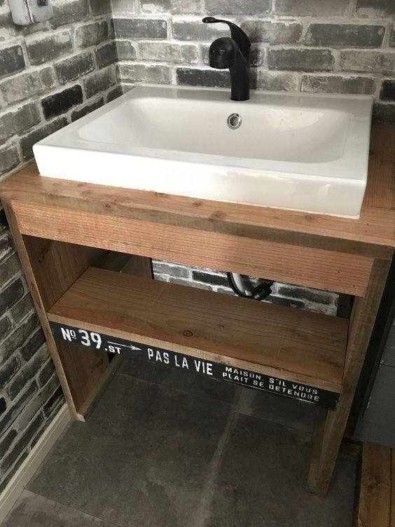 憧れの造作洗面台をいよいよ洗面所に設置します 造作 洗面台