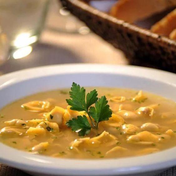 Receita de Sopa de Capeletti