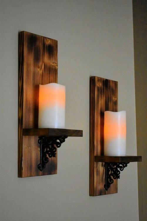 Christmas Eyeshadow Looks Wall Decor Living Room Wooden Candle