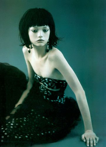 Italian Vogue - Gemma Ward - By Paolo Roversi - MAKEUP&HAIR!!!