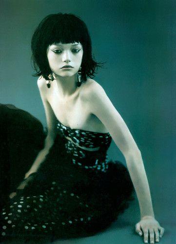 Italian Vogue - Gemma Ward - By Paolo Roversi - MAKEUP&HAIR!!!