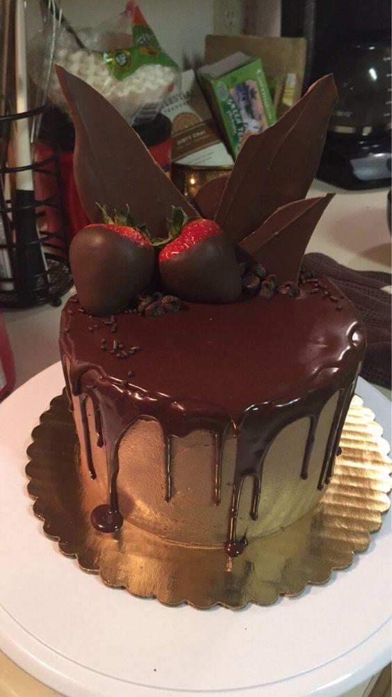 Death By Chocolate cake I made last night