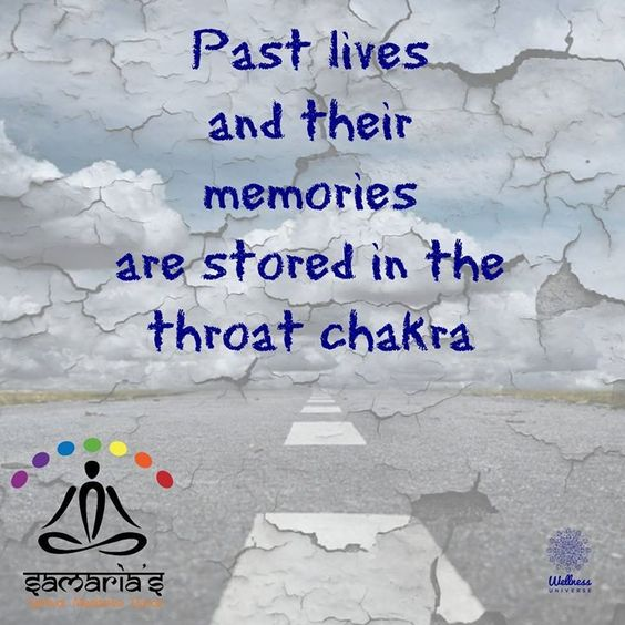 Open and balance your throat chakra for access to past lives and memories