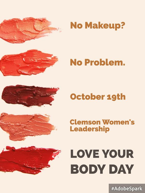 One of my Campus Action projects was helping to plan a Love Your Body event. Our main goal was highlighting beauty standards for women in the professional world, especially regarding makeup. We were inspired out of frustration that women have to look a certain way to be taken seriously, and so we decided to put on an event challenging this assumption. The event was pretty successful; we had around 15 people participate, and a few more took selfies and posted them to our event page on…