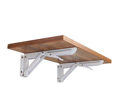 Staffe Pieghevoli Per Tavoli.Montaggio A Parete Pieghevole Reggimensola Panca Tavolo Pieghevole