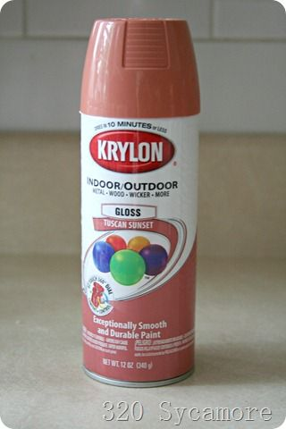 Krylon 320 Is The Perfect Salmon Color You Get With This