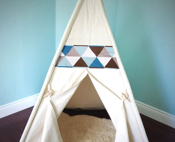 Large Teepee Tent WITH POLES and WINDOW