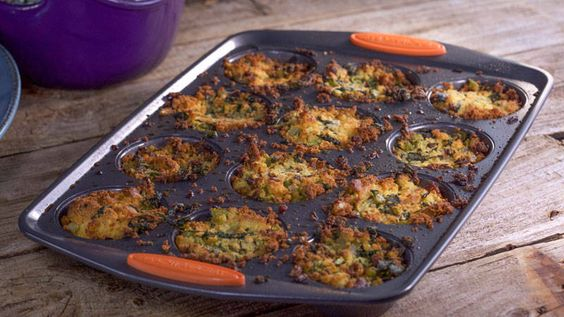 Ryan Scott's Cornbread, Bacon and Sage Stuffing Muffins with Black ...