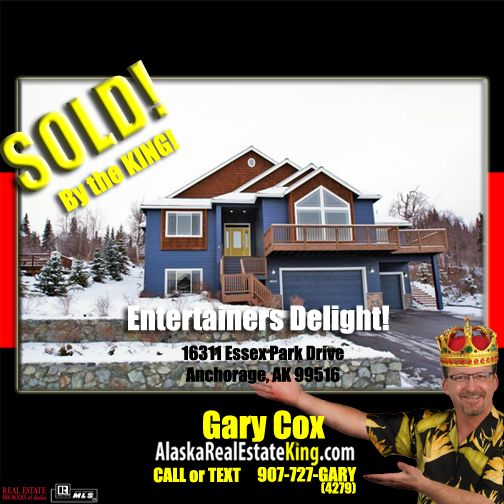 Sold at $620,000. For more Properties FOR SALE by the KING, visit http://alaskarealestateking.com/  Check out the King's reviews from happy clients http://www.zillow.com/profile/Gary-Cox-Realtor/Reviews/