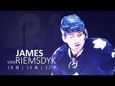▶ James Van Riemsdyk   2013 Season: 2 min 44 sec of JvR scoring goals with a very dramatic soundtrack.