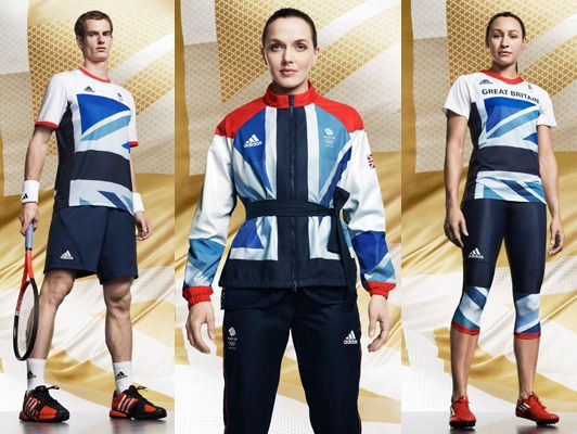 The Team GB Olympic kit by Stella McCartney (Very cool!)
