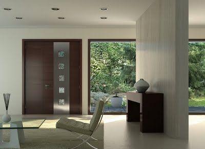Cerramientos de casas modernas hall de entrada pinterest for Cerramientos de interiores