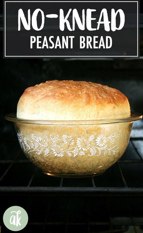 My Mother's Peasant Bread: The Best Easiest Bread You Will Ever Make