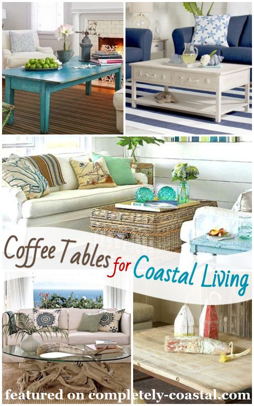 Nautical Coffee Table Decor Ideas