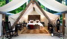 Craving a getaway? Hit up this glamping site in Washington.