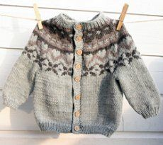 Knitted Throws Free Patterns : Fair Isle knitting looks so much cuter on children. Knit your little one this...