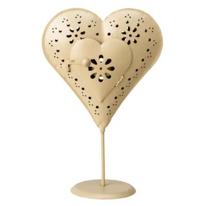 Standing Heart Tealight Candle Holder: Image 1