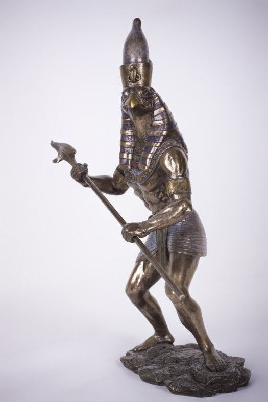 Tall Horus Statue God Of War Protection Egyptian Bronzelike - China unveils colossal 1320 ton god of war statue