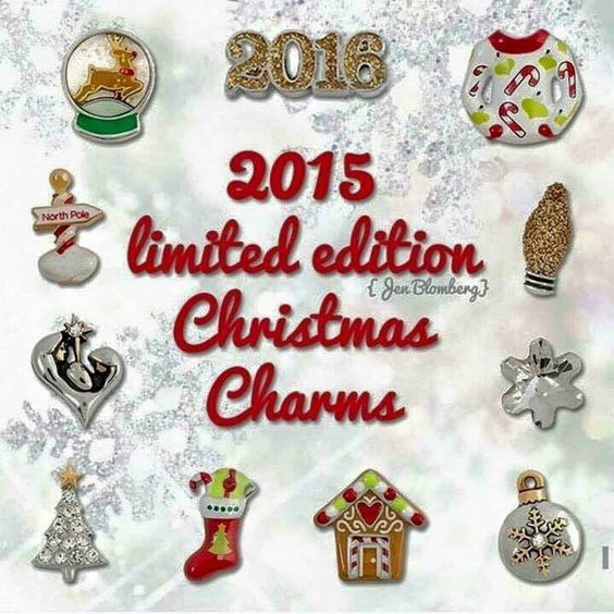 origami owl limitededition holiday christmas charms