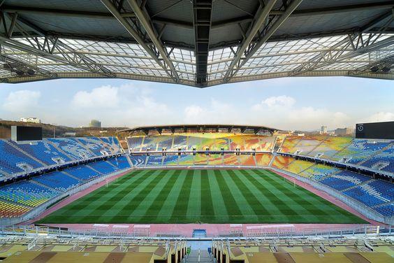 Suwon World Cup Stadium – Um dos maiores estádios coreanos