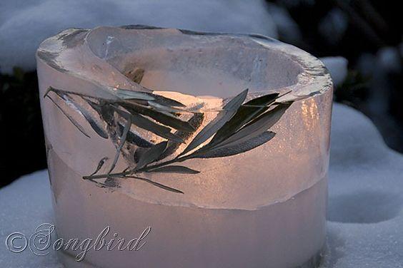 ❥ Songbird Ice Lantern