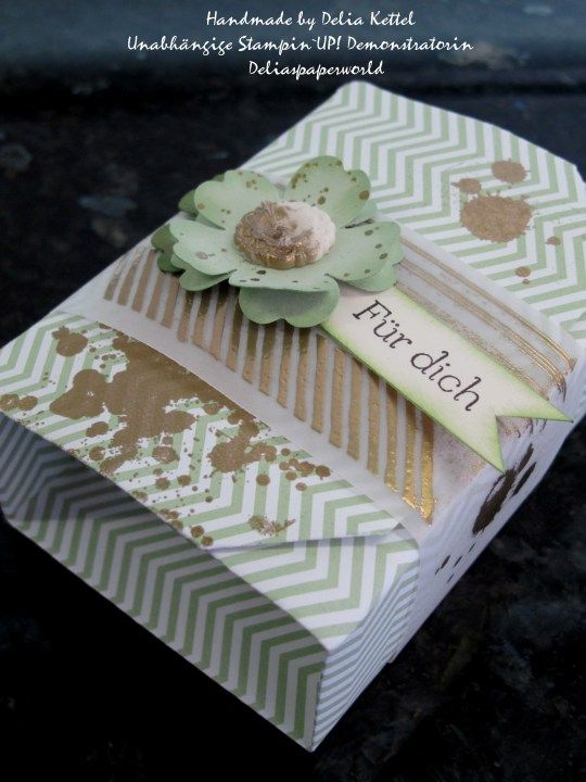 Origami Box Pistazie/Box in a Box ***♥♥