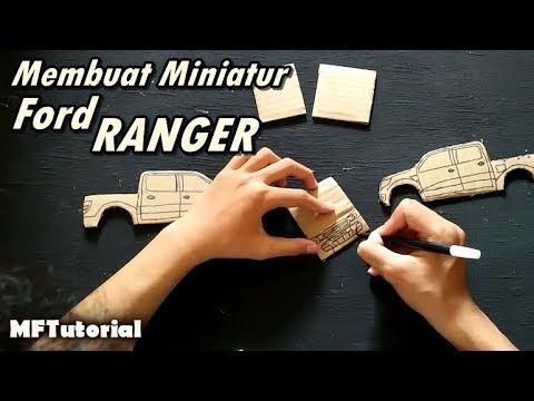 Cara Membuat Miniatur Mobil Ford Ranger Dari Kardus Ide Kreatif Ford Ranger Mobil Ford Kreatif