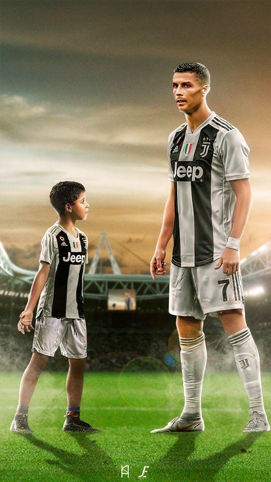 huge discount 47009 93e8e CR7 et CRJ en Juventus. | Cr get my world | Cristiano ...